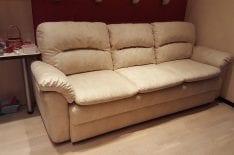 Перетяжка дивана фото 8