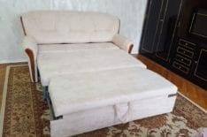 перетяжка раскладного дивана фото 3