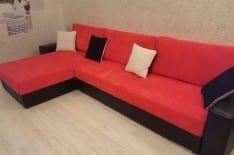 перетяжка углового дивана фото 5