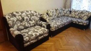 Перетяжка мягкой мебели СПб