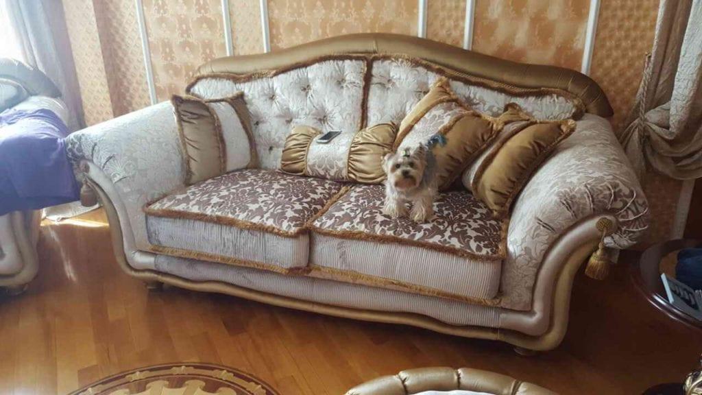 Перетяжка дивана в СПб по лучшей цене