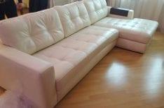 Ремонт кожи углового дивана фото 1