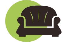 перетяжка кожаной мебели лого